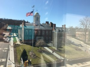 View of Courthouse from MorristownWorks